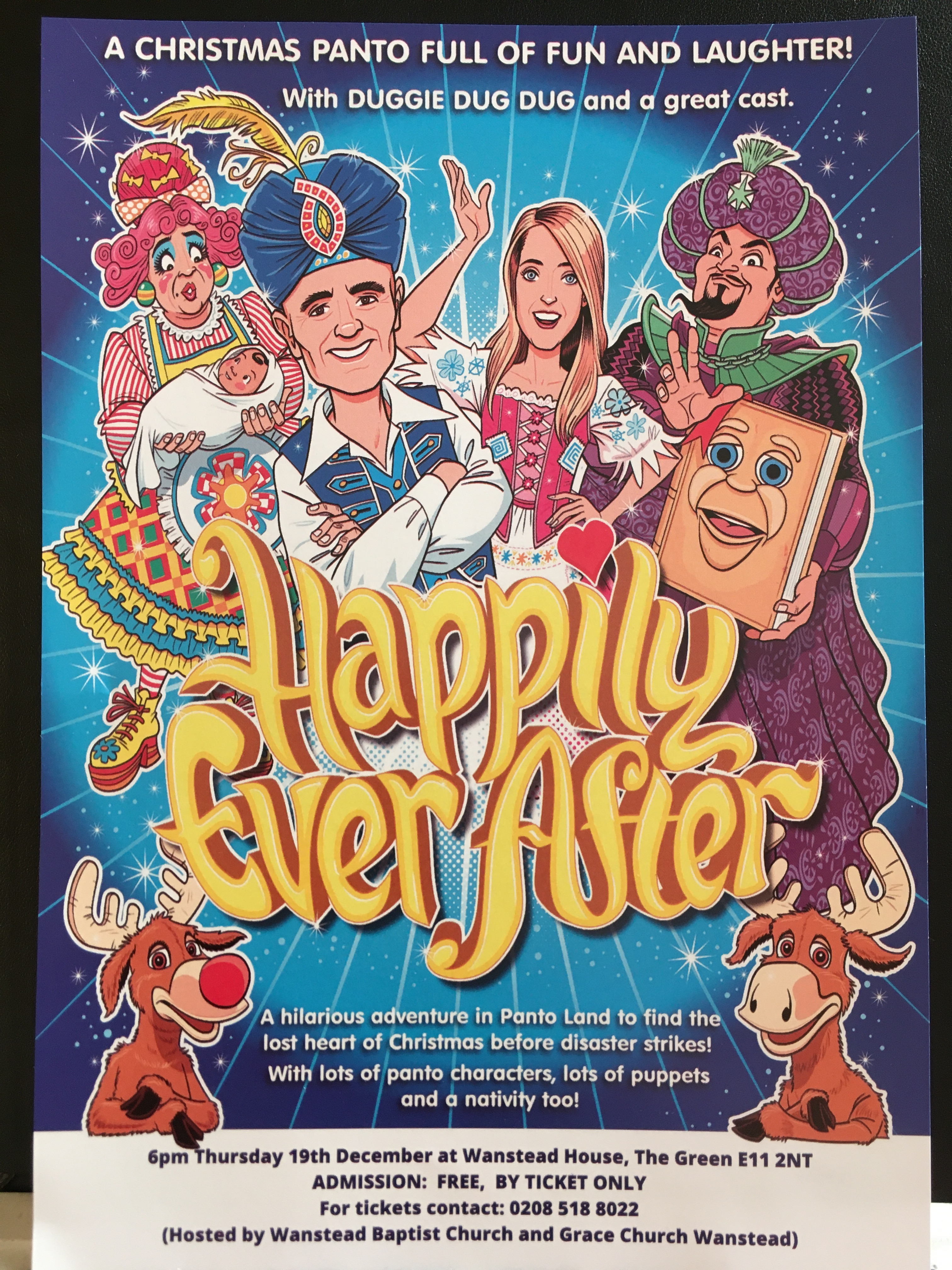 HAPPY EVER AFTER PANTO
